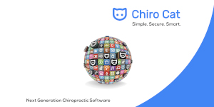 Chiro Cat Banner with a World of Possibilities (Smaller Size Cropped)